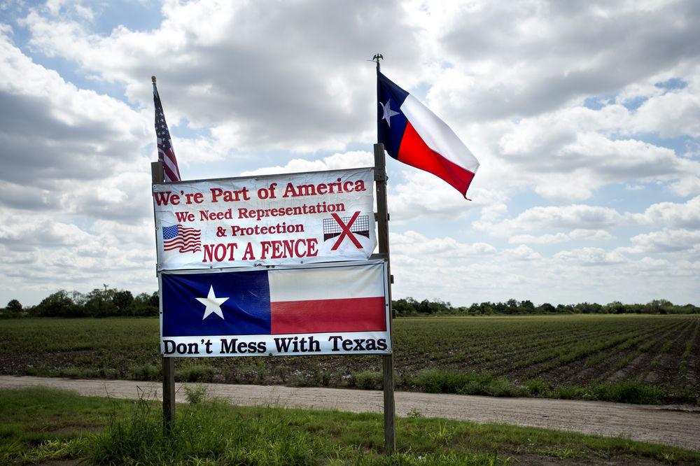 En los alrededores de Brownsville, Texas.