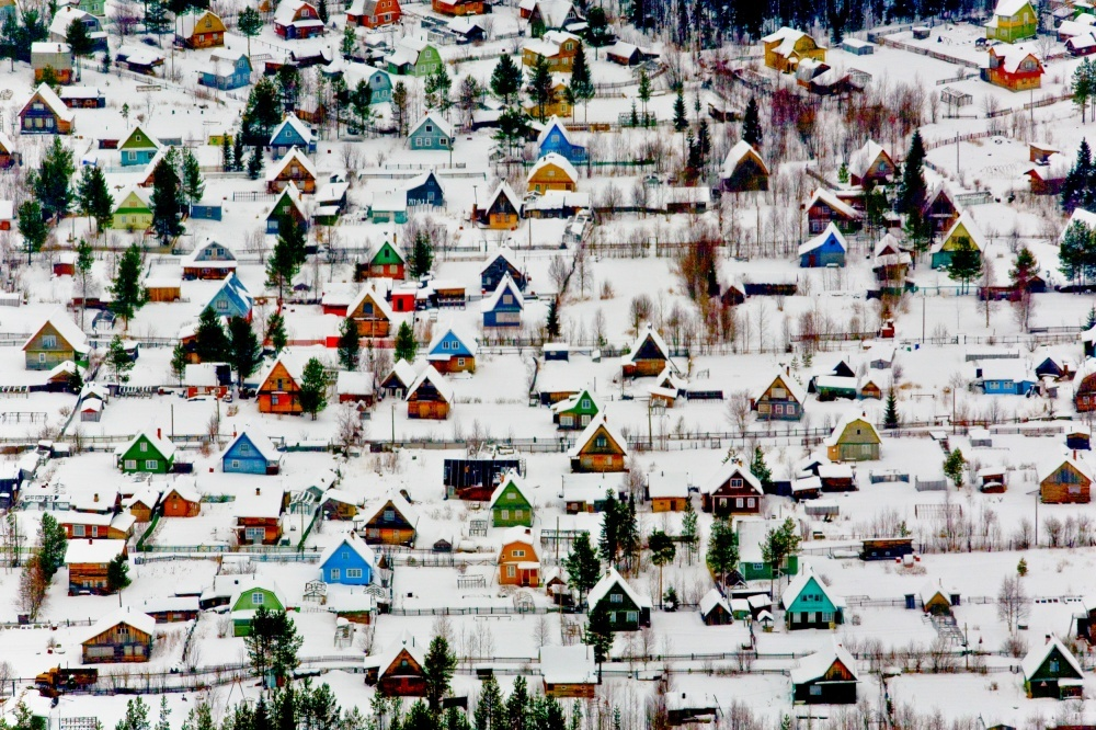 Vecindario para vacacionar en Rusia.