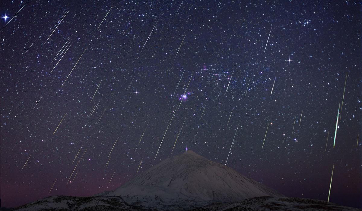 Lluvia de estrellas México 2017
