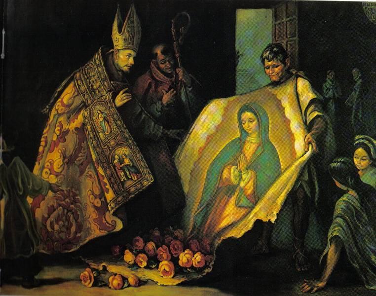 Tilma de Juan Diego