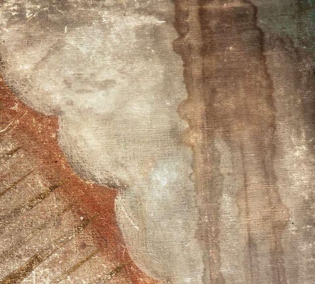 Daño al manto de la Virgen de Guadalupe
