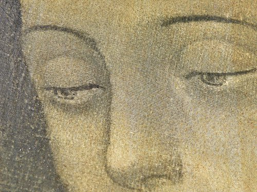 Ojos de la Virgen de Guadalupe