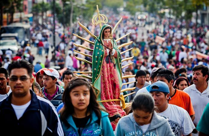Peregrinación Virgen de Guadalupe