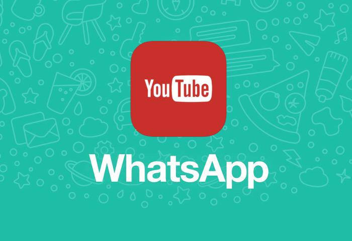 YouTube en WhatsApp