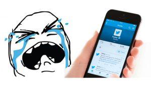 Tuiteros tristes