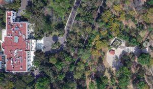 Dron en Los Pinos