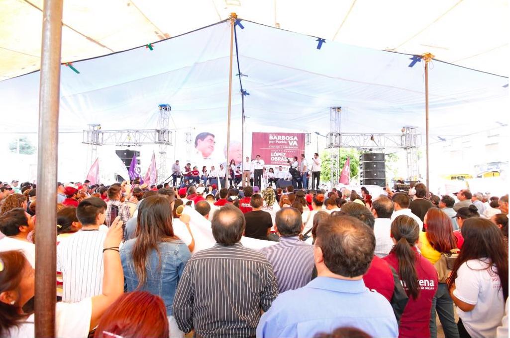 Amalucan, Miguel Barbosa