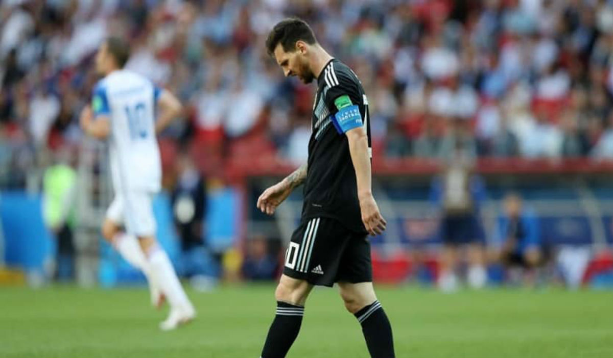 Messi, el protagonista de los memes